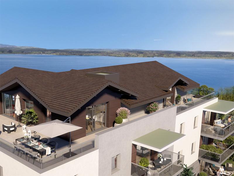 10.000€ de subvention en plus: offre spéciale pour ce T4  avec vue sur Lac Léman, valable jusqu'au 15 mars 2021
