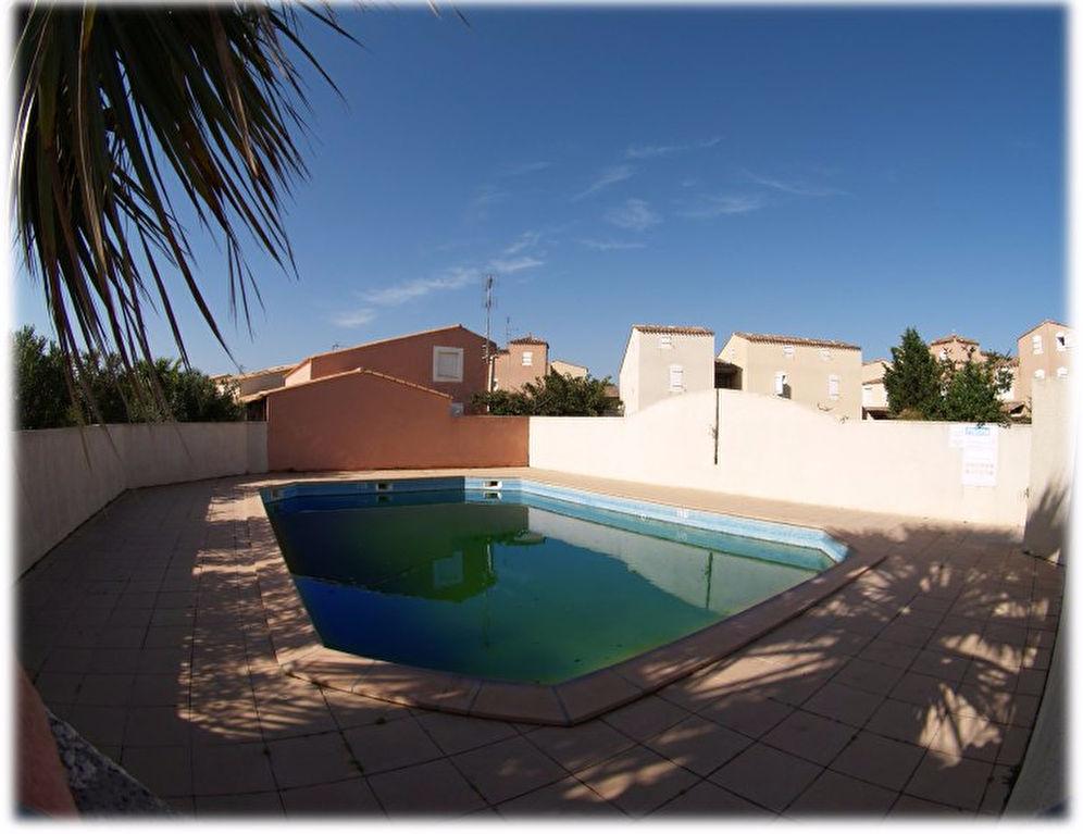 RICHELIEU villa  T3  sur le golf  Du Cap d'agde avec parking- piscine
