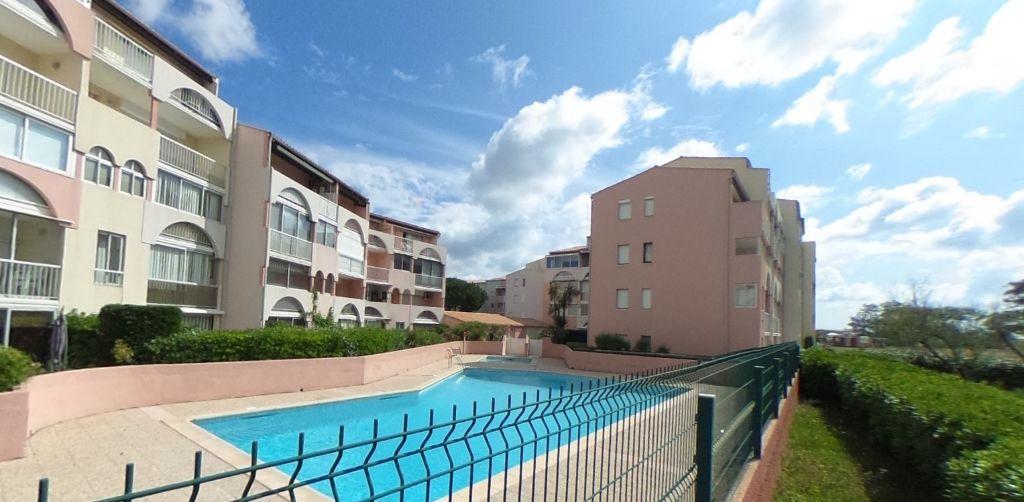 Appartement Le Cap D'agde 3 pièce(s) 37 m2 rez-de-jardin