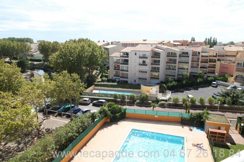 Cap d'Agde   belle vue  appartement 2 pièces Richelieu sopraland