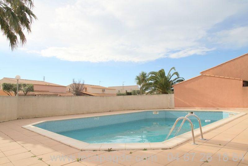 ref 555 cap d'Agde villa a vendre proche Golf