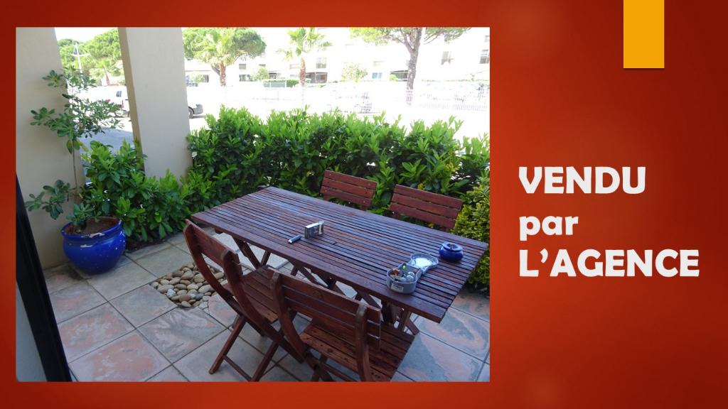 Studio en Rez de jardin Port Camargue      65000 €