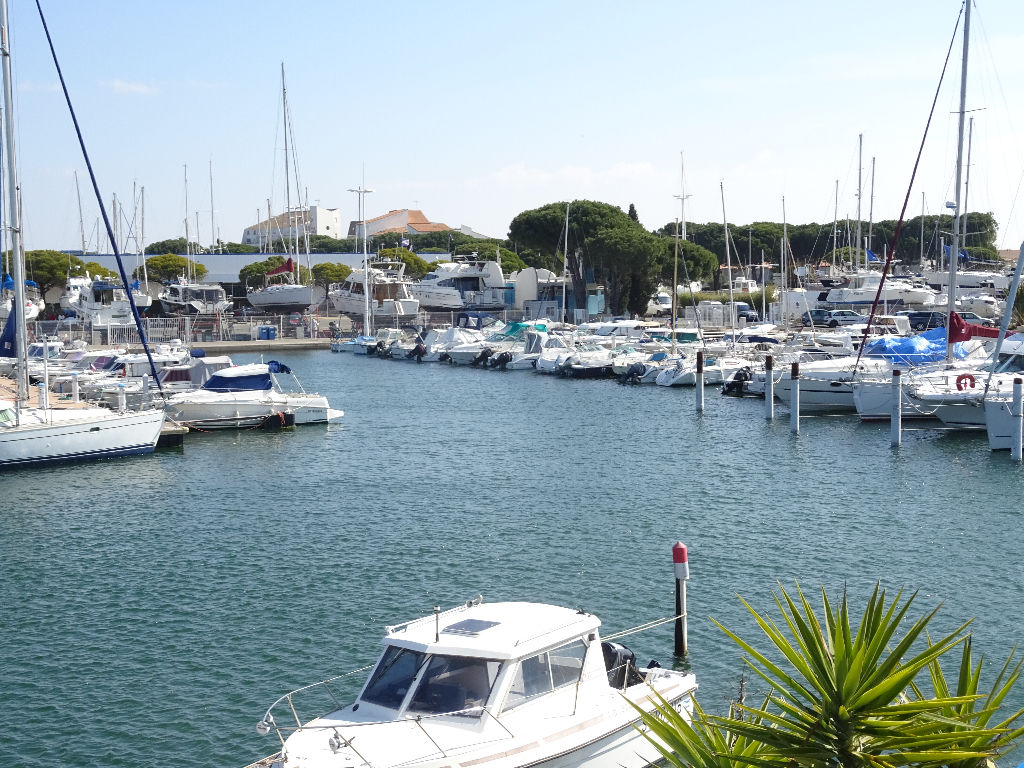 Marina à Port Camargue de 43m²