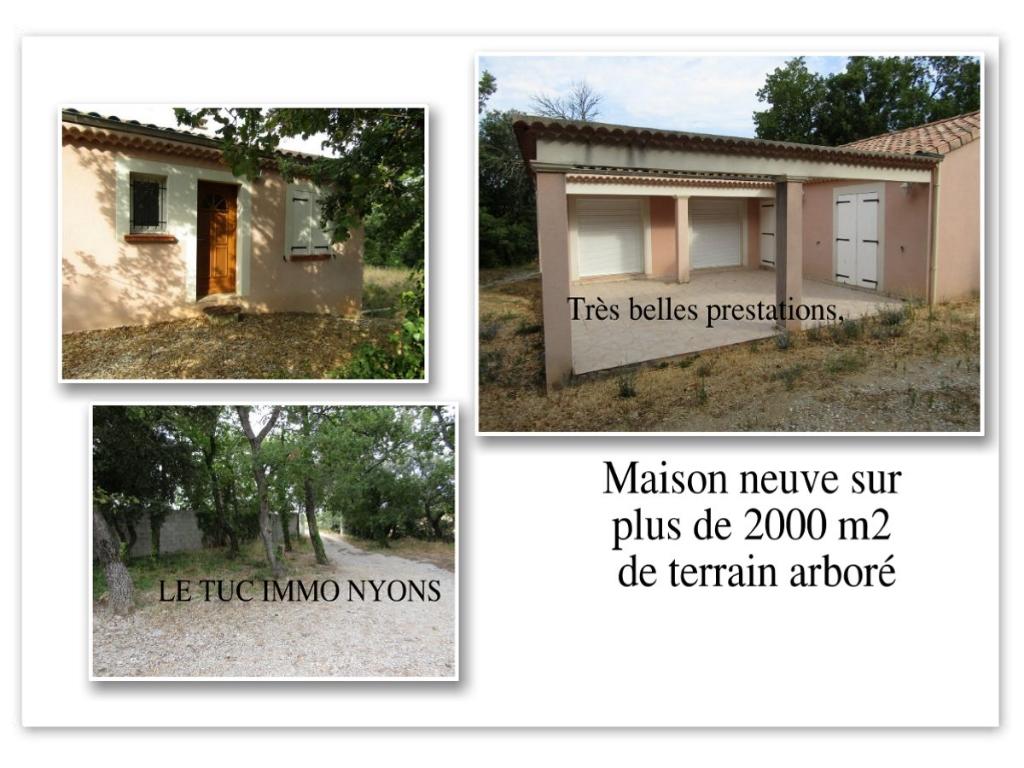 Maison neuve de 116 m2 4 chambres et 2000m2 de terrain contact 0699425308