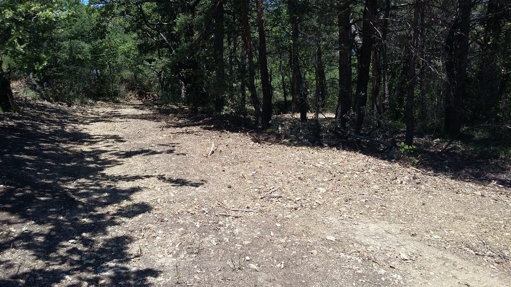 Terrain de loisirs non constructible de presque 4440 m2. Boisé essentiellement de pins. Pas de nuisance et vue sur la montagne de la Lance 0699425308.