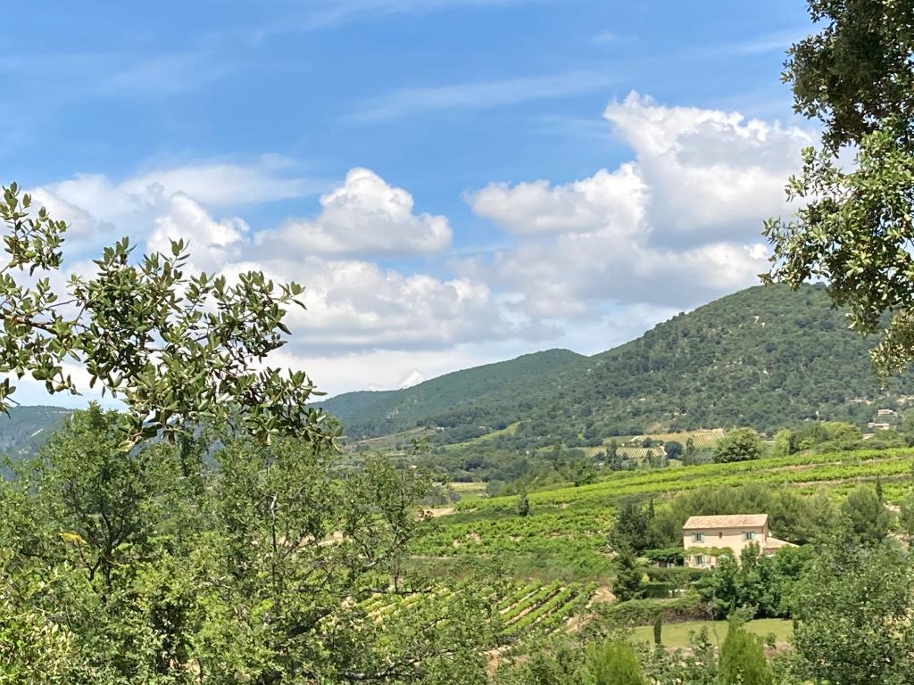Magnifique Terrain à Faucon de 1804 m2 entièrement viabilisé avec une vue sur les montagnes et les vignes 0668368774