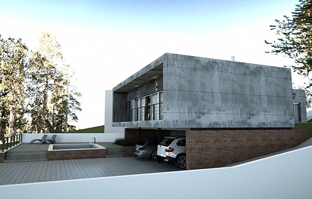 Maison de 150m² sur un terrain de 2000m² avec piscine