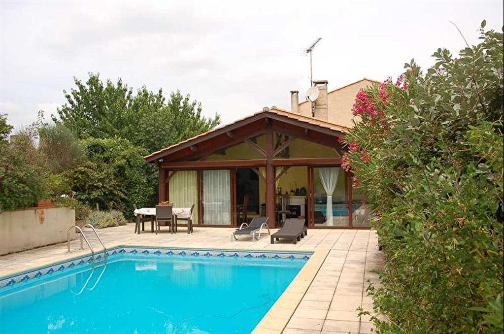 Villa de 234m²,4 chambres sur 1500m² avec piscine