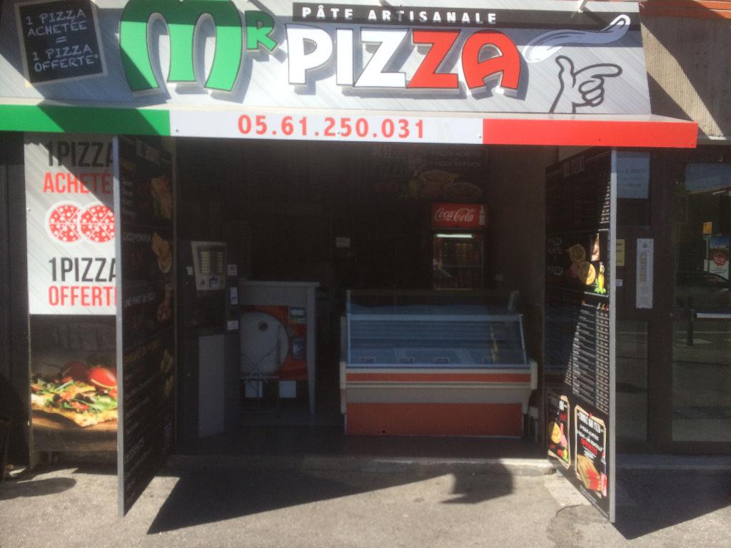 Restauration rapide/Pizzeria.Petit loyer.