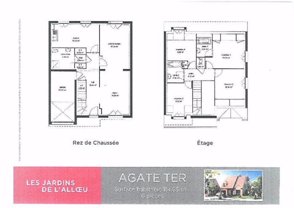 Maison Fleurbaix 5 pièce(s) 114.55 m2