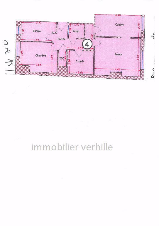 Appartement Armentieres 3 pièce(s) 58 m2