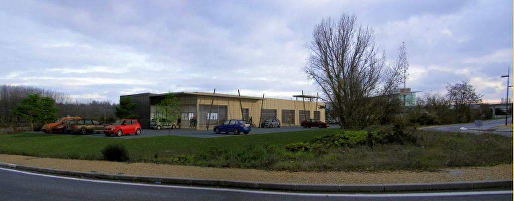 Locaux commerciaux et activité sur RD 910