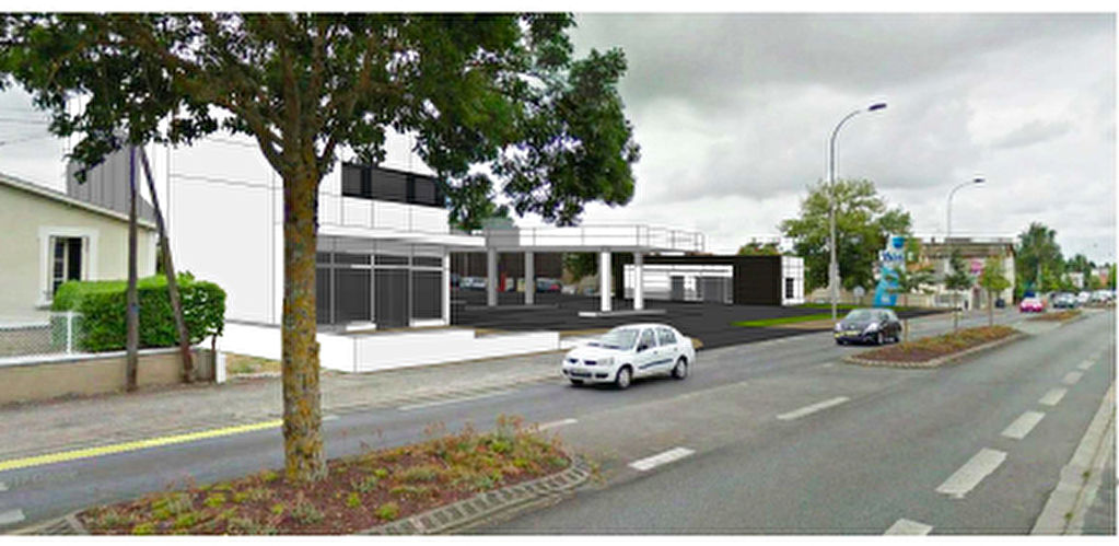 Local commercial Poitiers 611 m2
