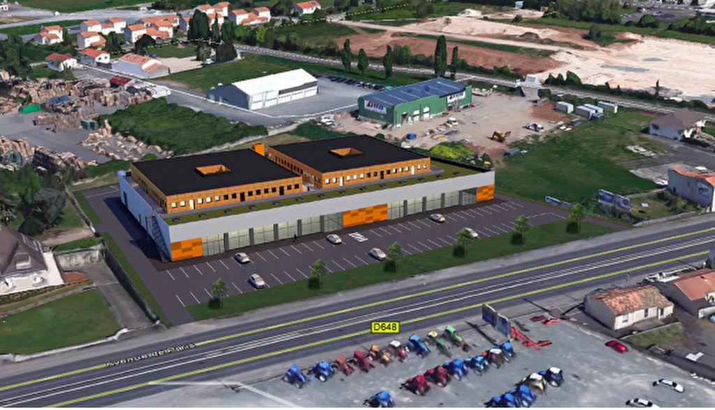 Local commercial Niort 3116 m2
