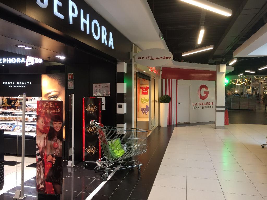 Cellule commerciale Poitiers Géant Casino 80 m2