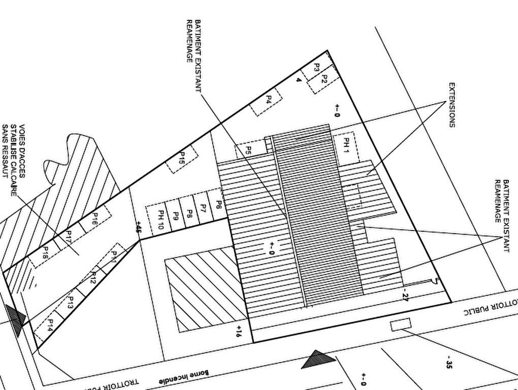 Immeuble de bureau Poitiers 950 m2