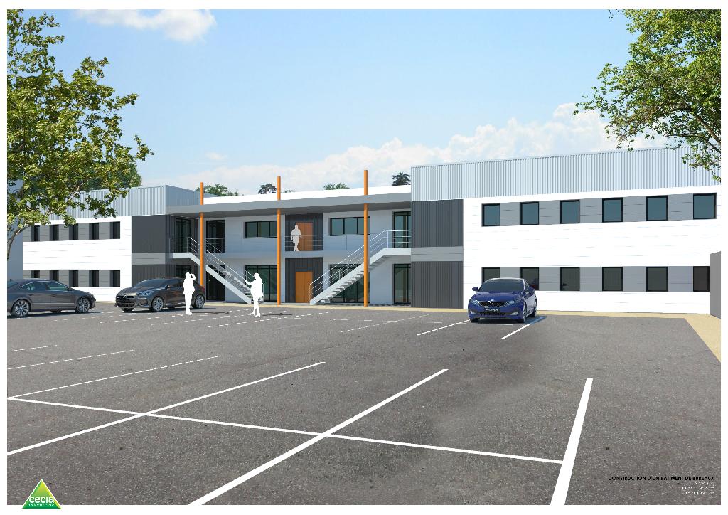 Niort, bureaux neufs 270 m2