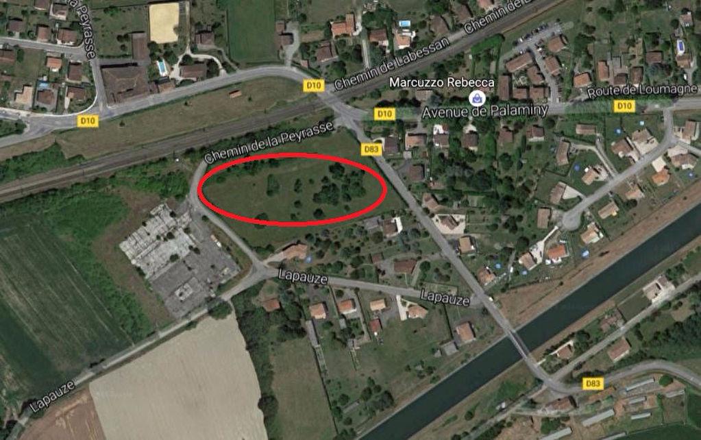 Terrain Martres Tolosanes 15440 m2