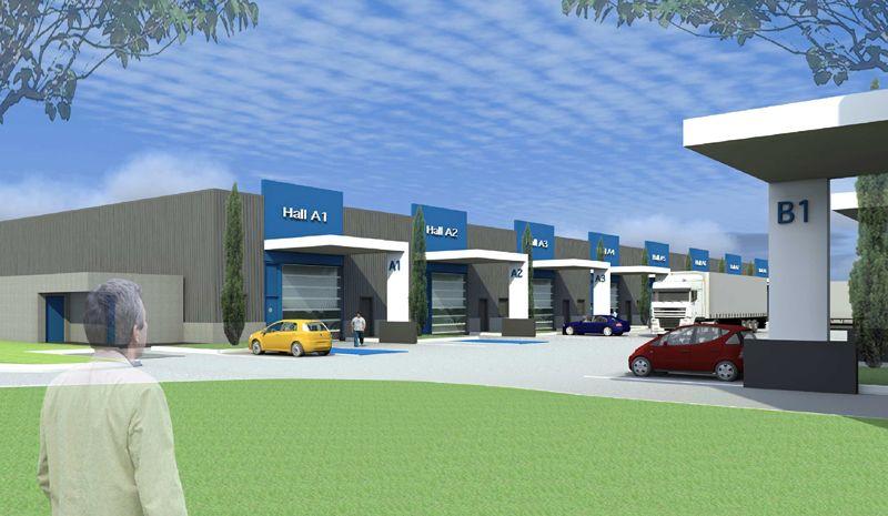 Locaux d'activité 290 m² neuf à louer Toulouse Sud Est