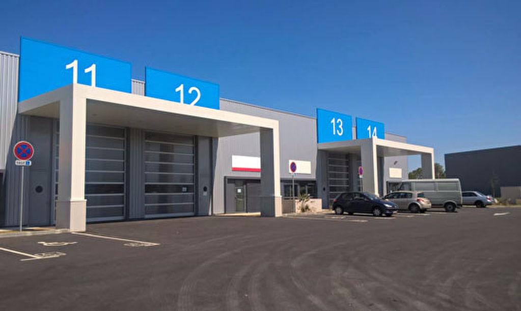 Locaux d'activité 289 m² neufs à louer Sud Est Toulouse