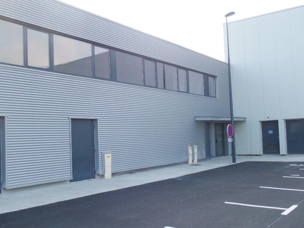 Bureaux Brest 1580 m2 Brut de Béton divisible