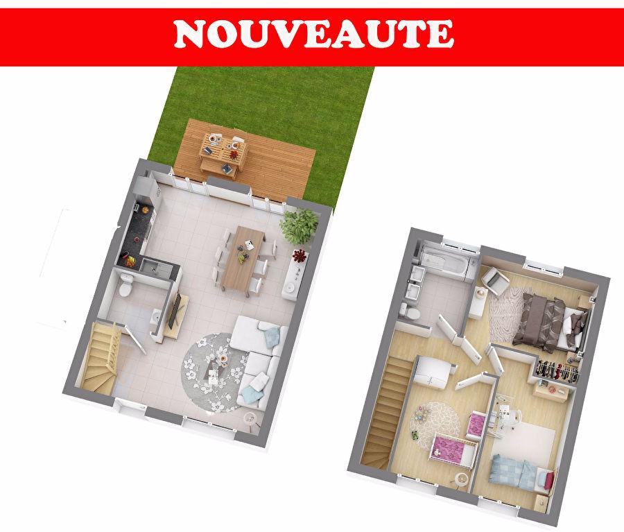 LE PELLERIN, MAISON NEUVE RT 2012, 3CH+ JARDIN