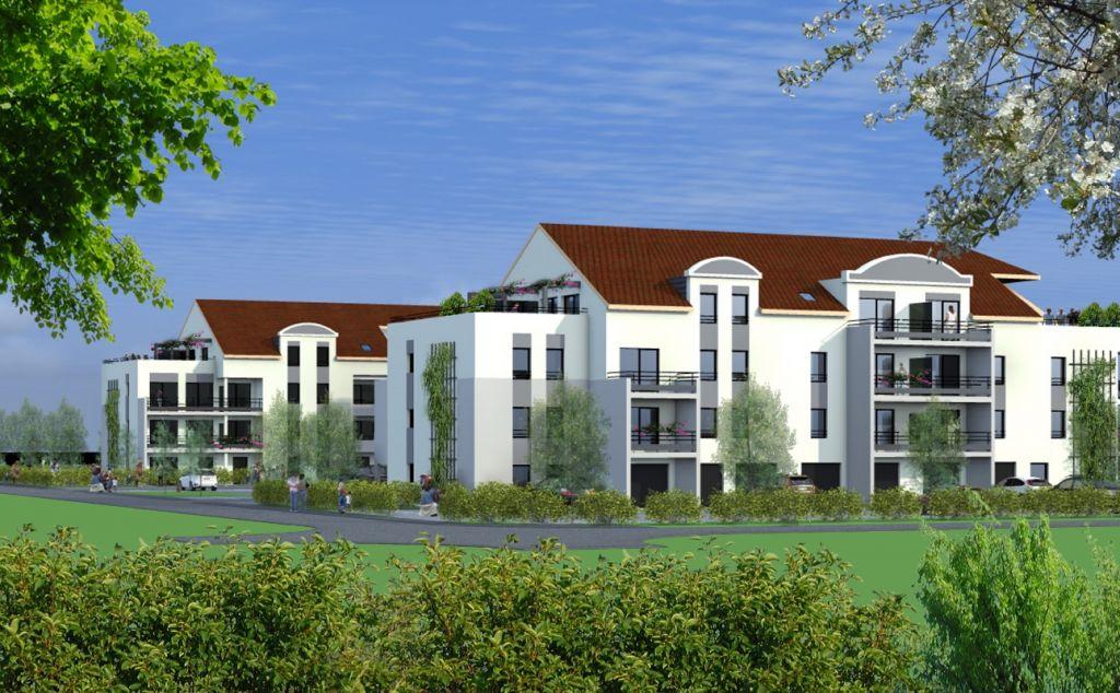 appartement T2 NEUF - terrasse -  jardin - Maizieres les Metz