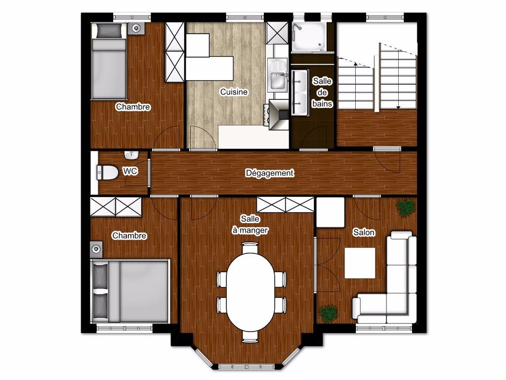 a louer appartement thionville t4 a louer 4 pi ces 90 m cabinet benedic. Black Bedroom Furniture Sets. Home Design Ideas
