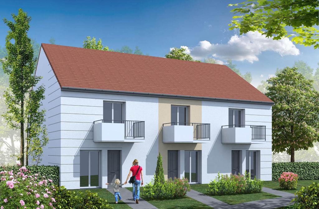 Duplex NEUF à Thionville jardin et entrée privative