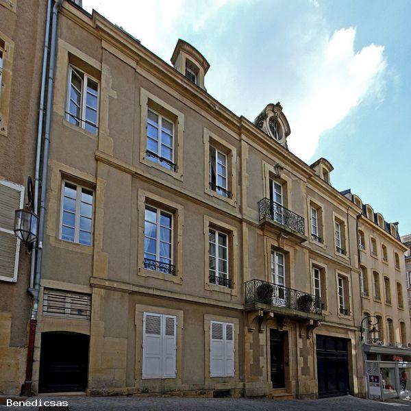 A vendre appartement metz t12 a vendre 12 pi ces 300 m cabinet benedic - Hotel particulier metz ...
