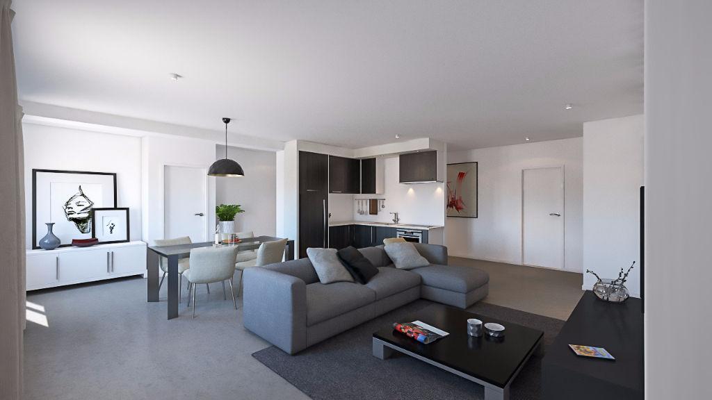 Vente appartement neuf metz woippy village avec jardin