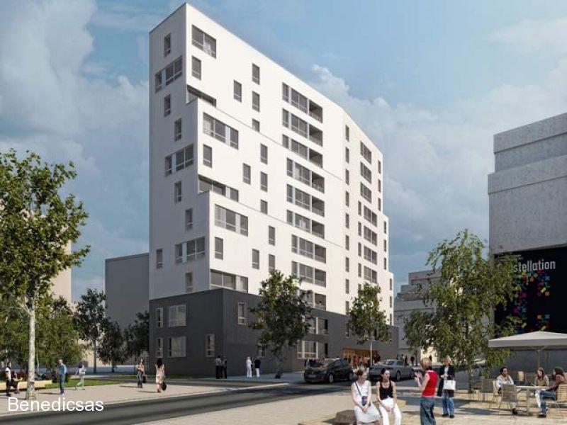 Vente appartement T3 neuf Metz Centre Gare terrasse et jardin