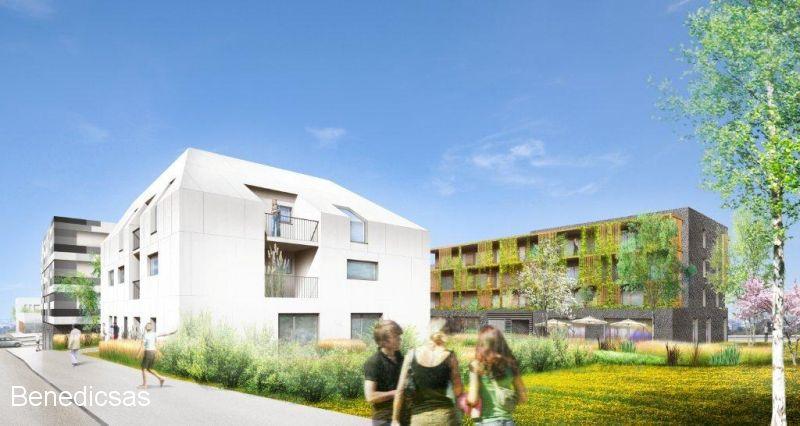 Vente appartement T3 neuf metz terrasse et parking