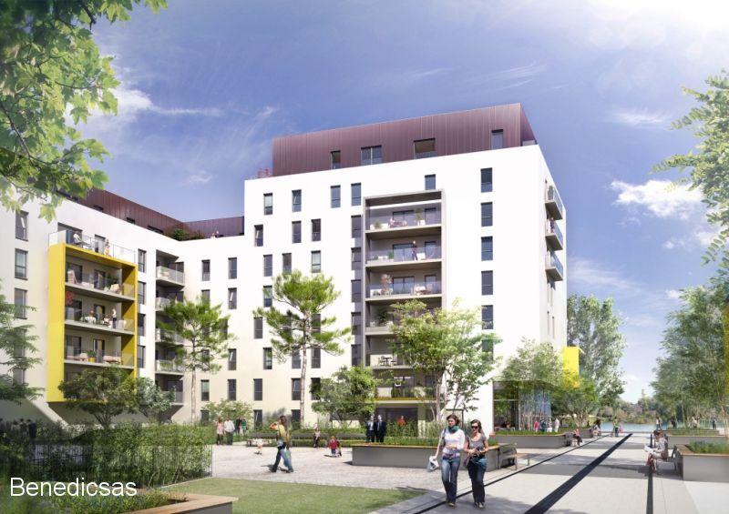Vente appartement T4 neuf metz centre terrasse