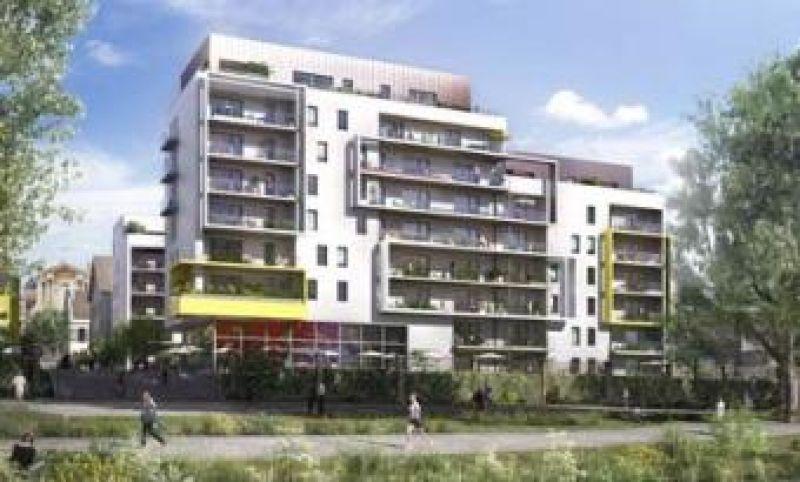 Vente appartement T1 neuf metz centre terrasse jardin