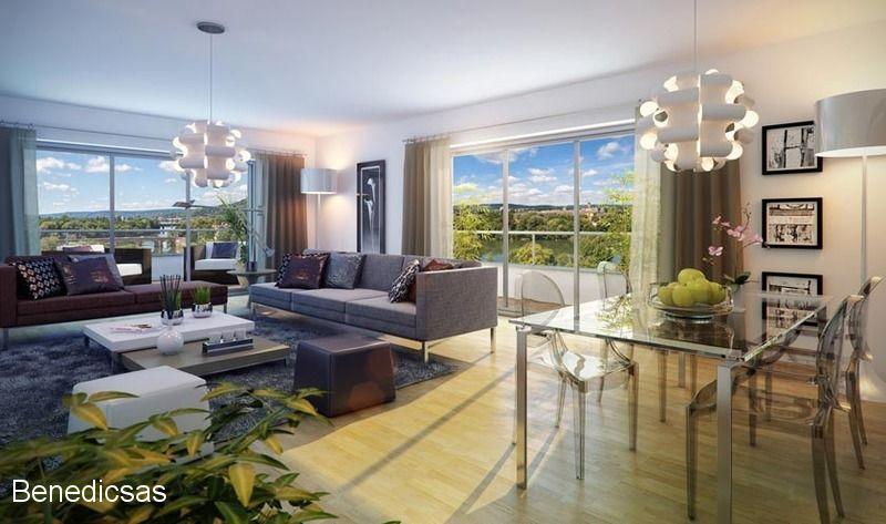 Vente appartement T3 neuf metz centre terrasse