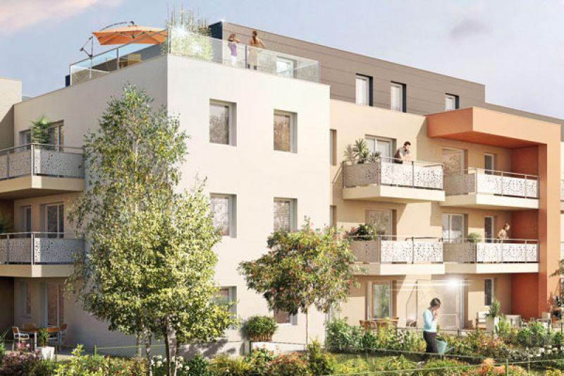 Vente appartement T2 neuf metz terrasse jardin garage et cave