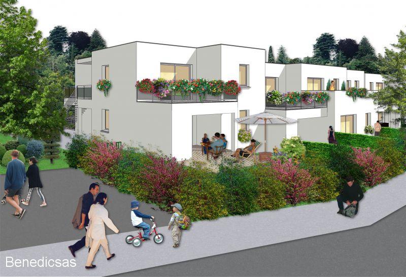 Vente appartement T3 neuf saint julien lès metz terrasse jardin et parking