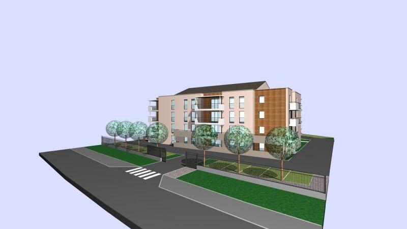 Vente appartement T1 neuf thionville terrasse possibilité parking