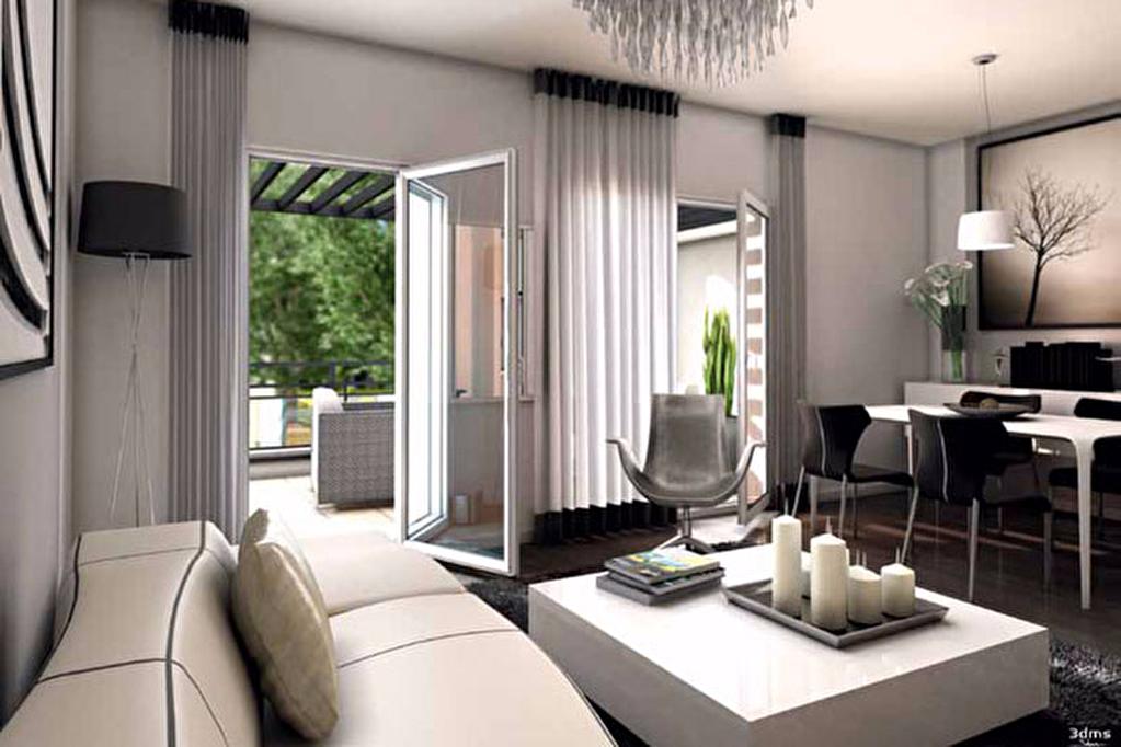 Vente appartement T3 neuf thionville terrasse possibilité parking ou garage