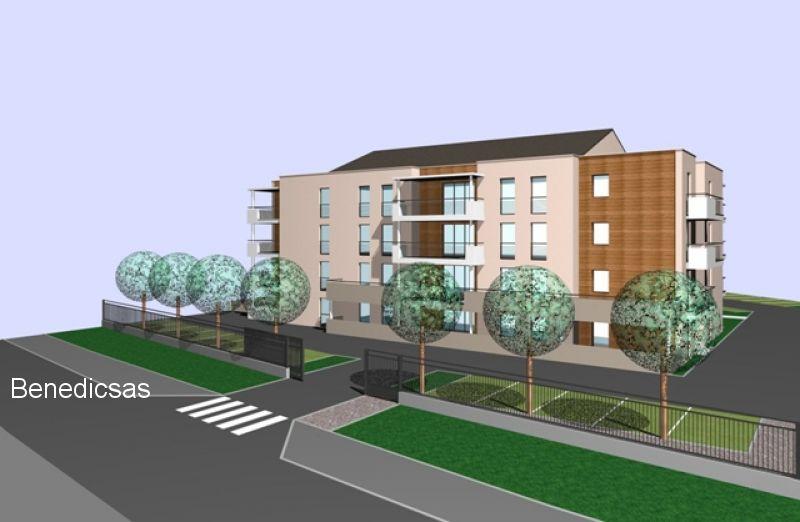 Vente appartement T2 neuf thionville terrasse possibilité parking et garage