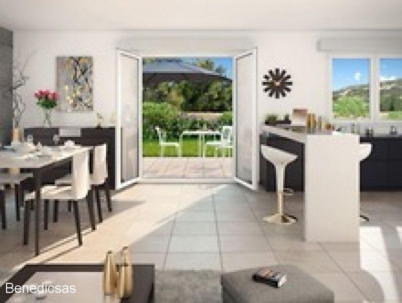 METZ - Vente appartement T2 neuf metz terrasse et parking