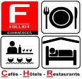 HOTEL BUREAU -16 CHAMBRES - MURS ET FONDS - CALVADOS