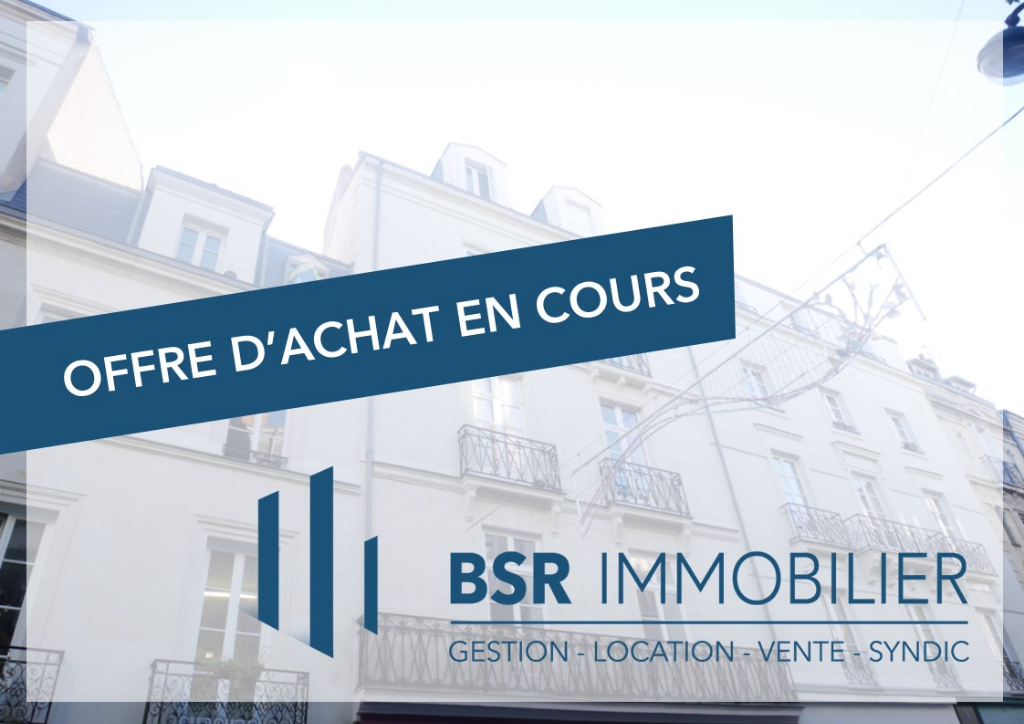 Nantes Hotel de Ville-Préfecture  appartement 2 pièces