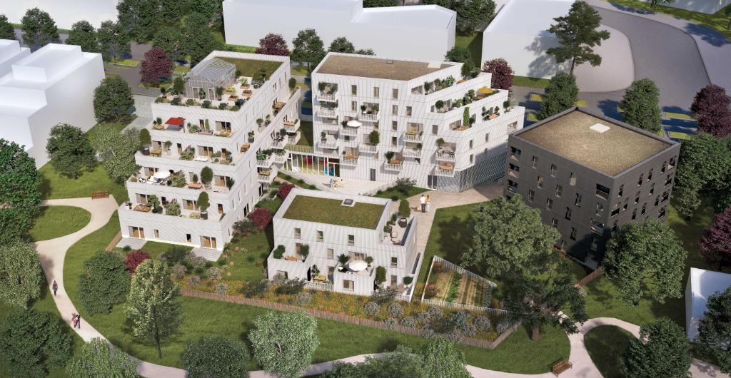 Appartement 3 pièces avec balcon et parking