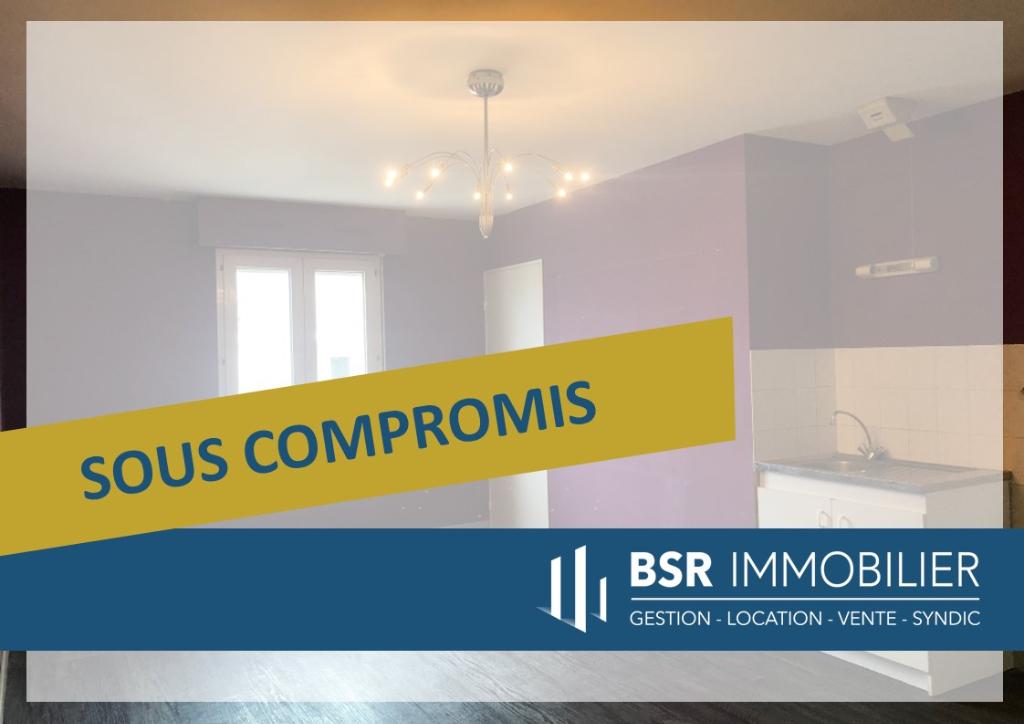 SOUS-COMPROMIS! Nantes Mellinet deux pièces dernière étage