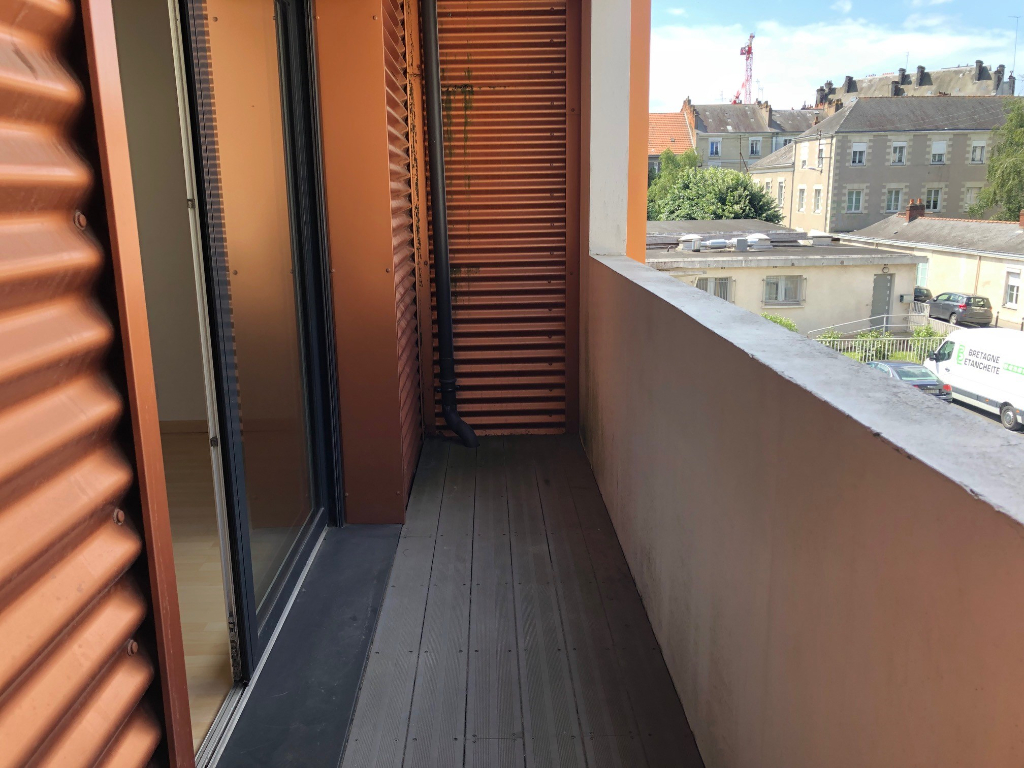 Appartement Nantes 3 pièces avec balcon et parking