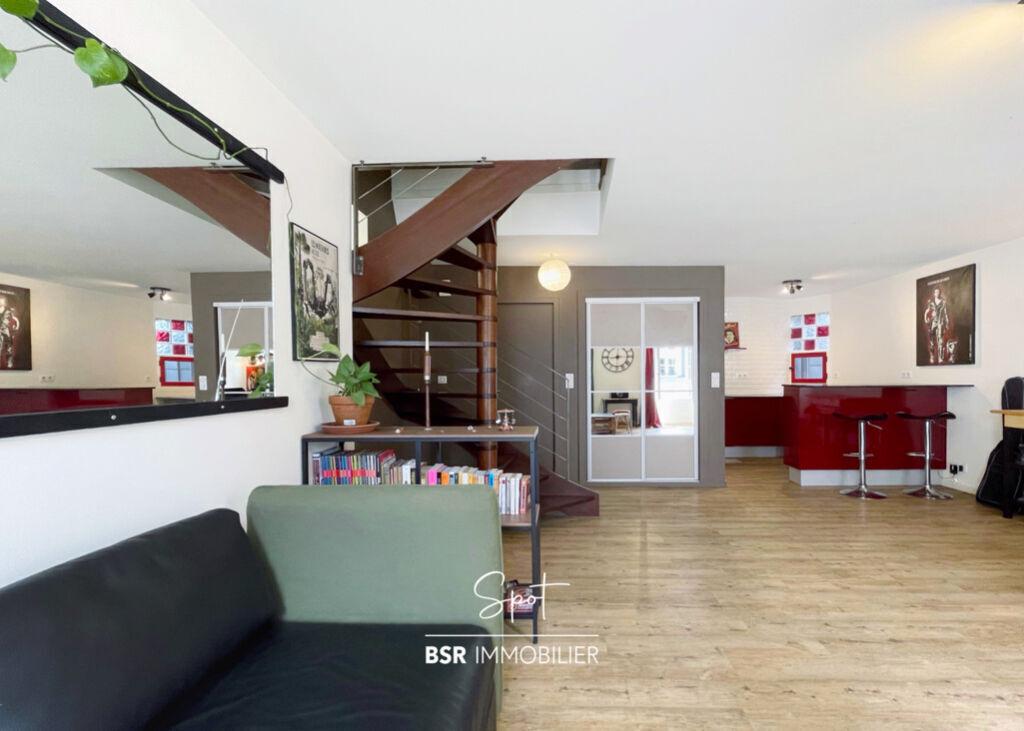 """BSR Immobilier présente """"SPOT"""", un duplex au dernier étage / idéal collocation"""