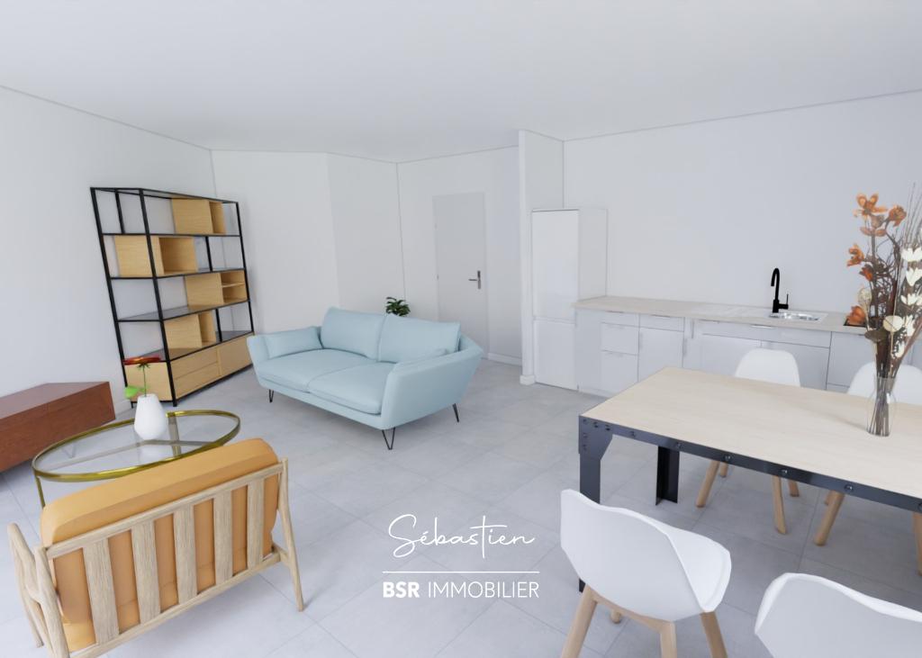 Appartement deux pièces, investissement, SAINT HERBLAIN bourg