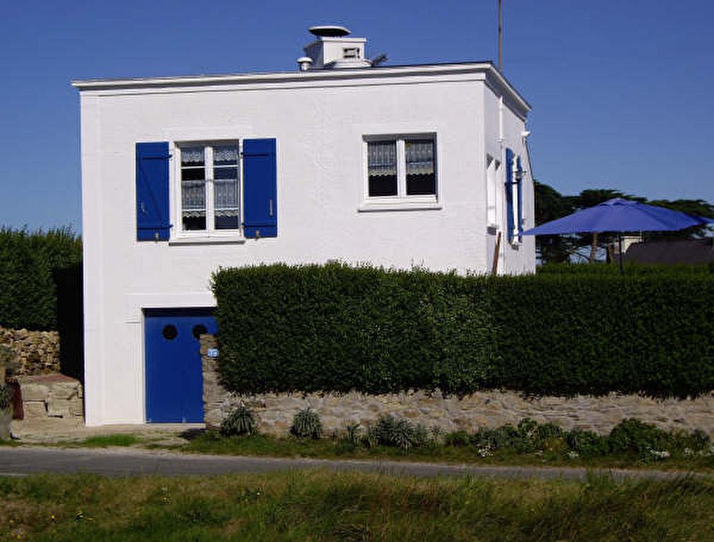 """SAINT-PABU - Maison """"bateau"""" proche plage, vue mer"""